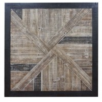 Odus - Black/Natural - Wall Decor