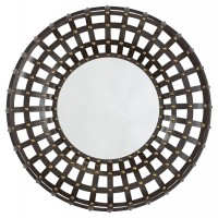 Ogier - Brown/Gold Finish - Accent Mirror
