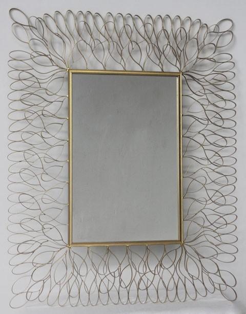 Ogdon - Antique Gold Finish - Accent Mirror