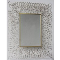 Ogdon - Antique Gold Finish - Accent Mirror