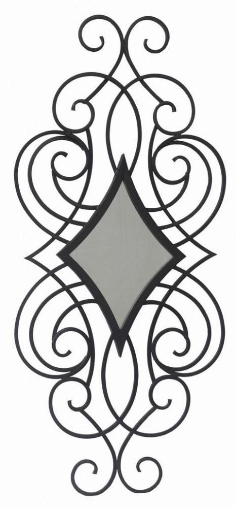 Oilbhe - Black - Accent Mirror