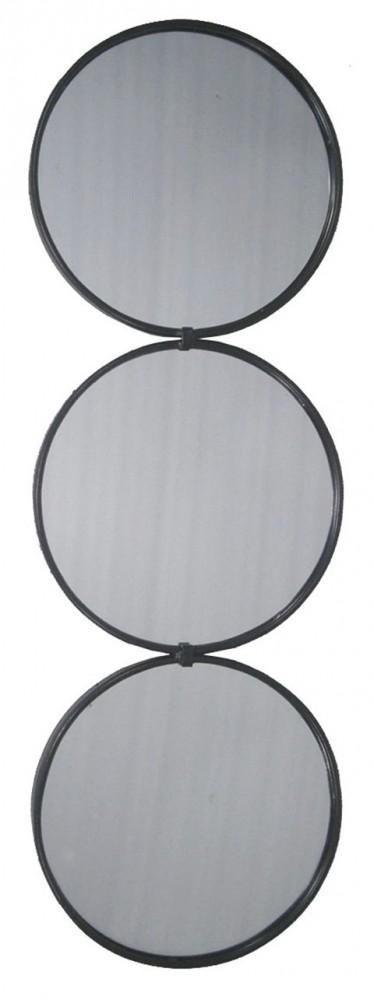 Ohanko - Black - Accent Mirror