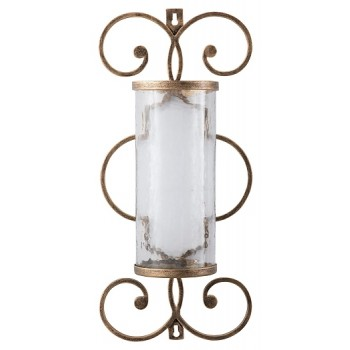 Oenone - Antique Gold Finish - Wall Sconce