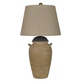 Dargiana Beige Ceramic Table Lamp 1 Cn L100504 Lamps