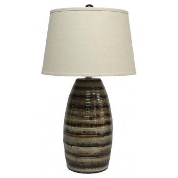 Darlon brown ceramic table lamp 1cn l100514 lamps price darlon brown ceramic table lamp 1cn aloadofball Choice Image