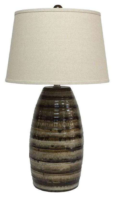 Darlon brown ceramic table lamp 1cn l100514 lamps darlon brown ceramic table lamp 1cn aloadofball Choice Image