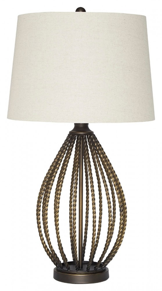 Darrius   Bronze Finish   Metal Table Lamp (1/CN) | L207034 | Lamps ...