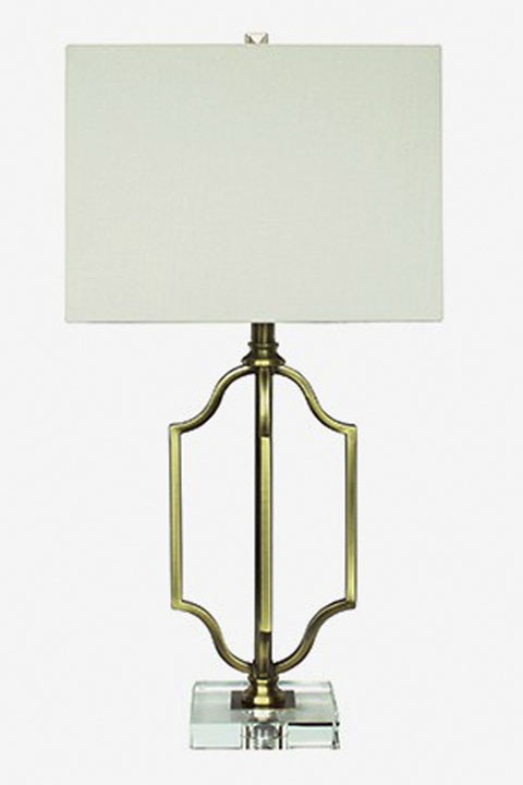 Arabela Antique Brass Finish Metal Table Lamp 1 Cn L428054