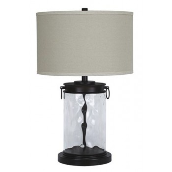 Tailynn - Clear/Bronze Finish - Glass Table Lamp (1/CN)