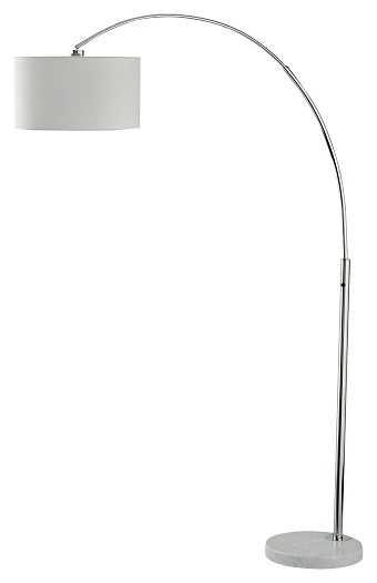Areclia - Chrome Finish - Metal Arc Lamp (1/CN)