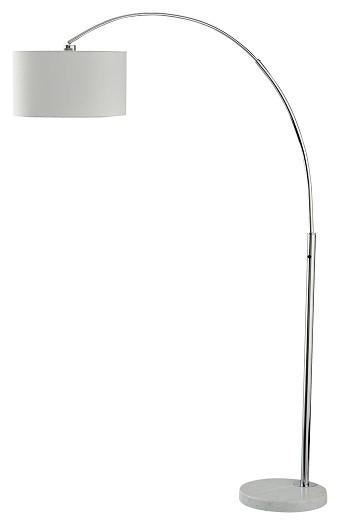 Areclia - Chrome Finish - Metal Arc Lamp (1/CN)