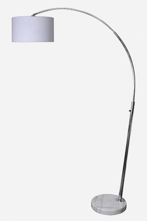 Areclia chrome finish metal arc lamp 1 cn