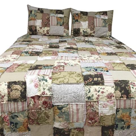 Damalis multi king quilt set bedding ensembles for Pruitts bedroom sets