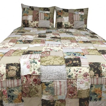 Damalis - Multi - Queen Quilt Set