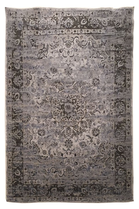 Kyan - Blue/Ivory - Medium Rug