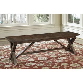 Windville - Dark Brown - Large Dining Room Bench