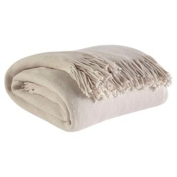 Haiden - Ivory/Taupe - Throw