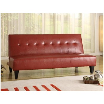 Marco Adjustable Sofa Red