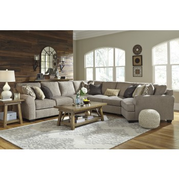 Pantomine - Driftwood 5 Pc. RAF Chaise Sectional