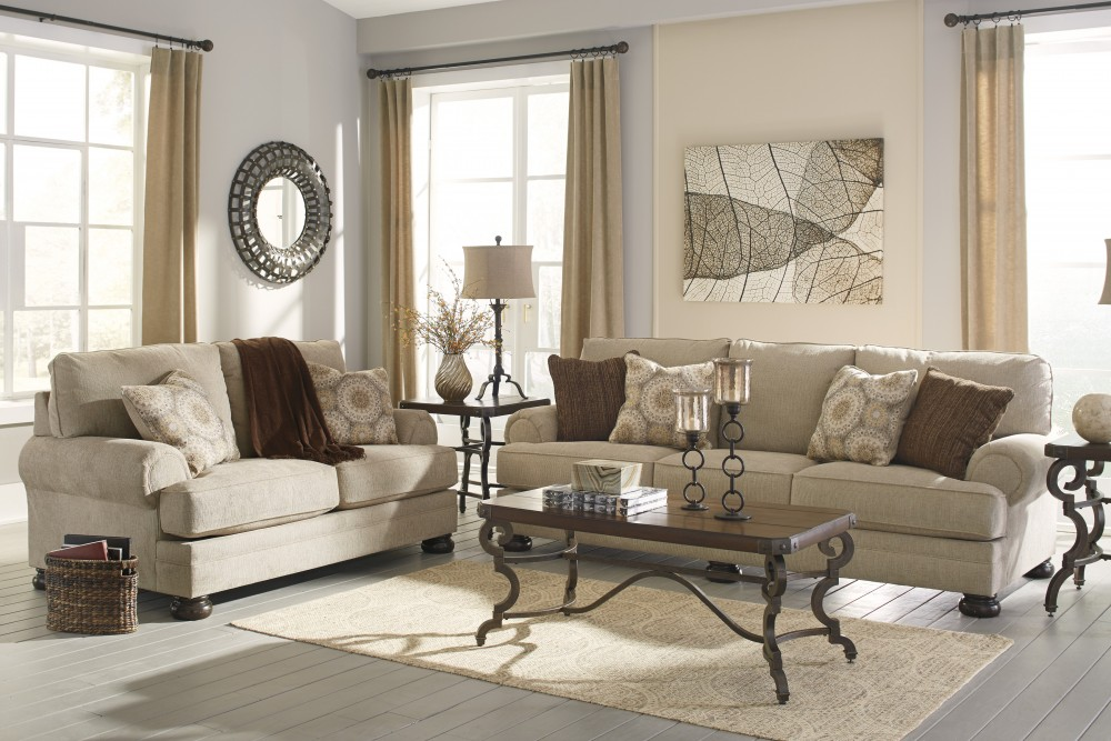 Quarry Hill - Quartz - Sofa & Loveseat