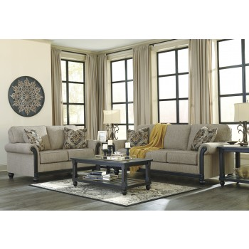 Blackwood  Taupe Sofa U0026 Loveseat