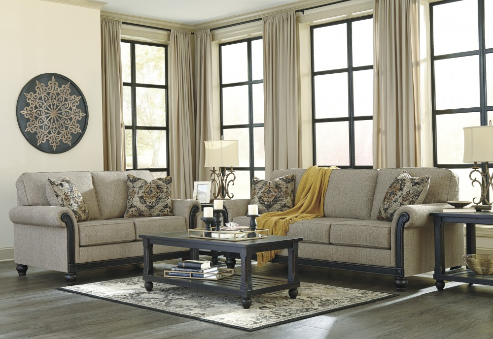 Blackwood - Taupe - Sofa & Loveseat
