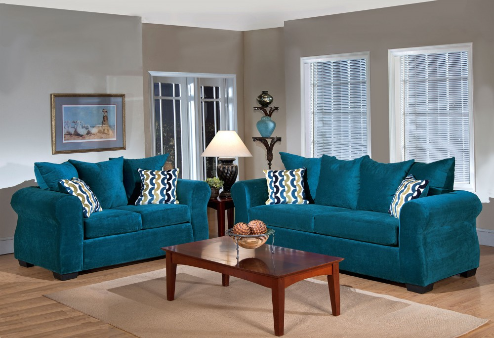 Madison Collection Sofa and Loveseat