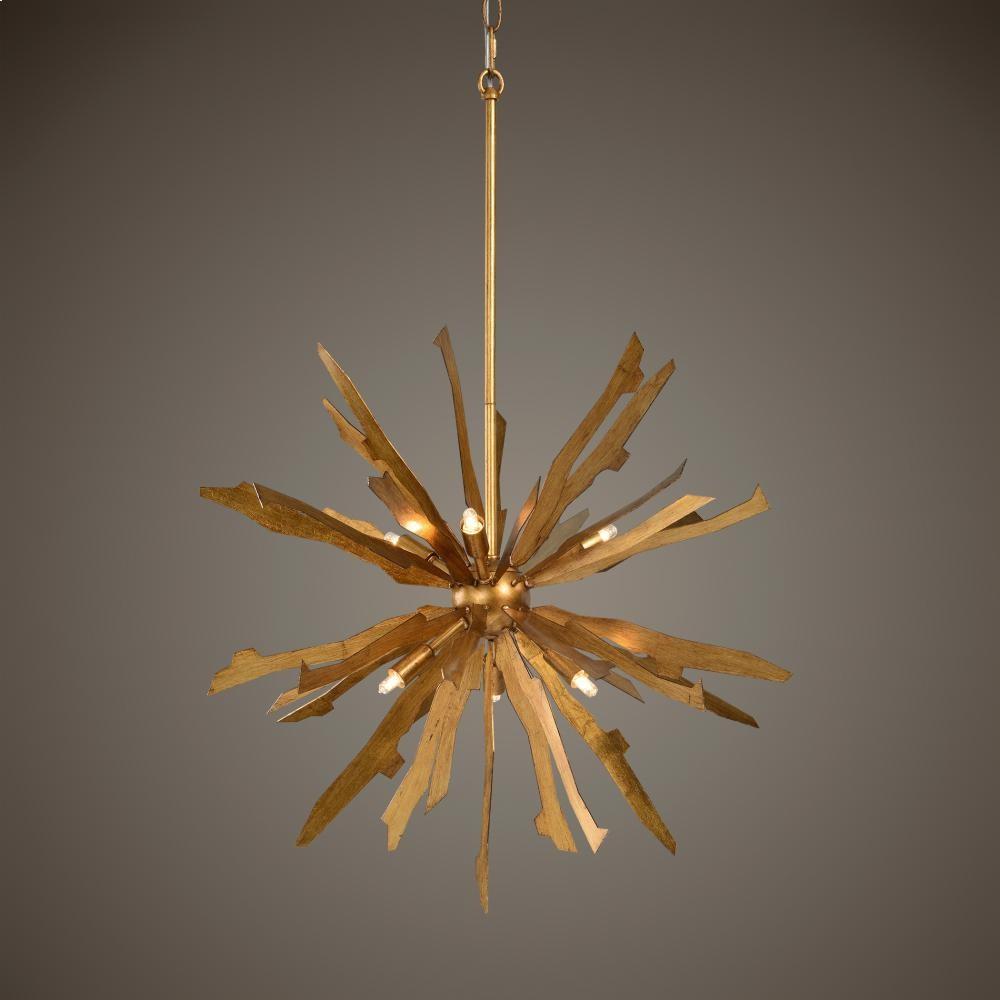 Uttermost starburst 6lt pendant r21290 ceilingwall mount uttermost aloadofball Image collections