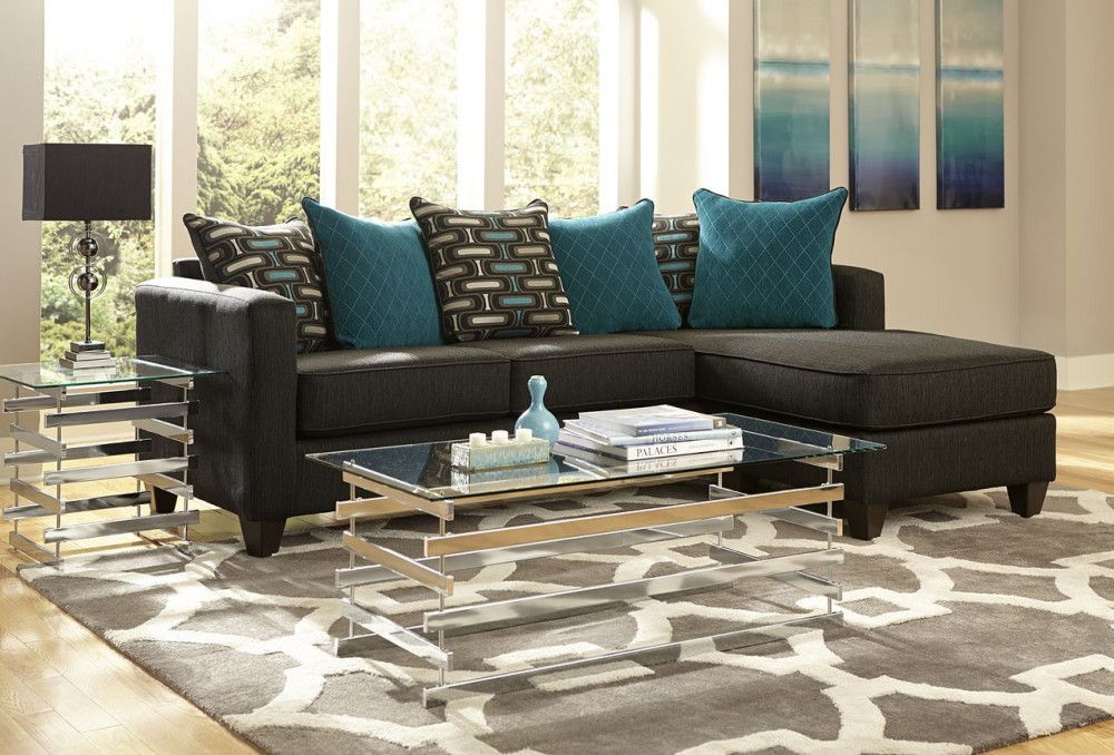 Watson 2pc Sectional | 7830-NCU | Sectional Couches | National ...