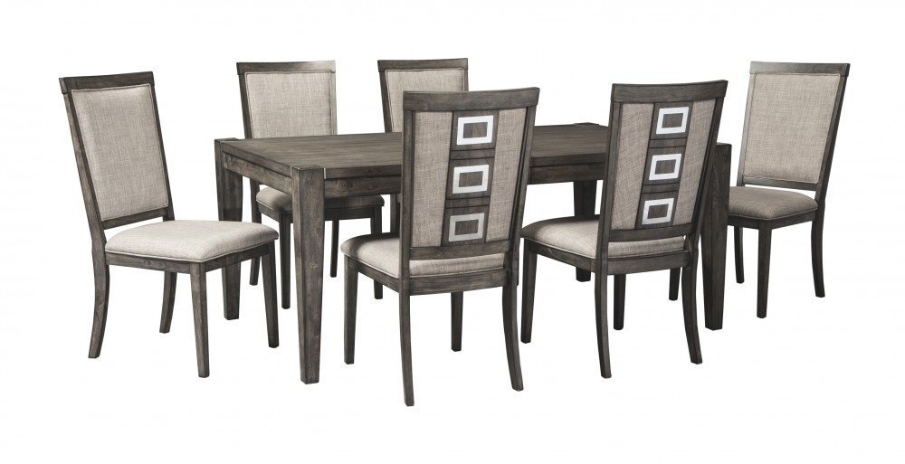 Chadoni - Gray - RECT Dining Room EXT Table