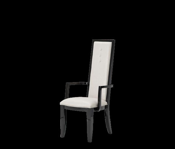 AMINI Sky Tower Arm Chair Black Ice