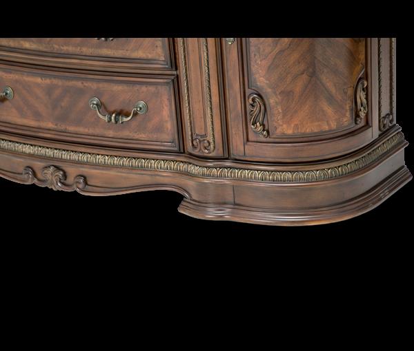 Amini Bella Veneto Dresser W Mirror Cognac 905105060202