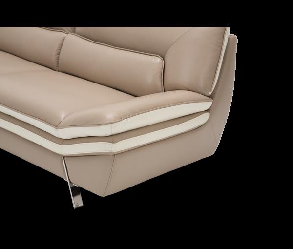Sensational Amini Carlin Sofa Stainlesssteel Sofas Metropolitan Theyellowbook Wood Chair Design Ideas Theyellowbookinfo