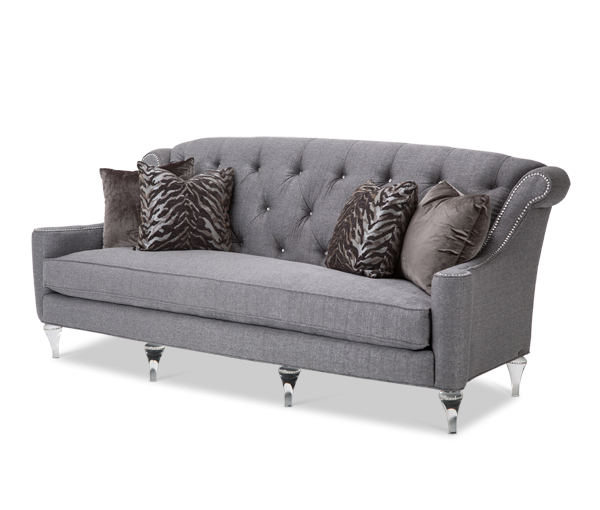 Super Amini Adele Tufted Sofa Clearwithcrystals Stadele15Tar002 Download Free Architecture Designs Itiscsunscenecom
