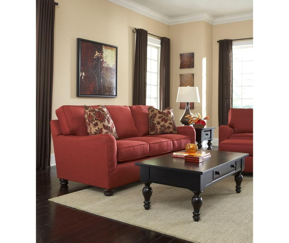 BROYHILL FURNITURE Parker Sofa Sleeper, Queen | 3746SLPR | Sleeper ...
