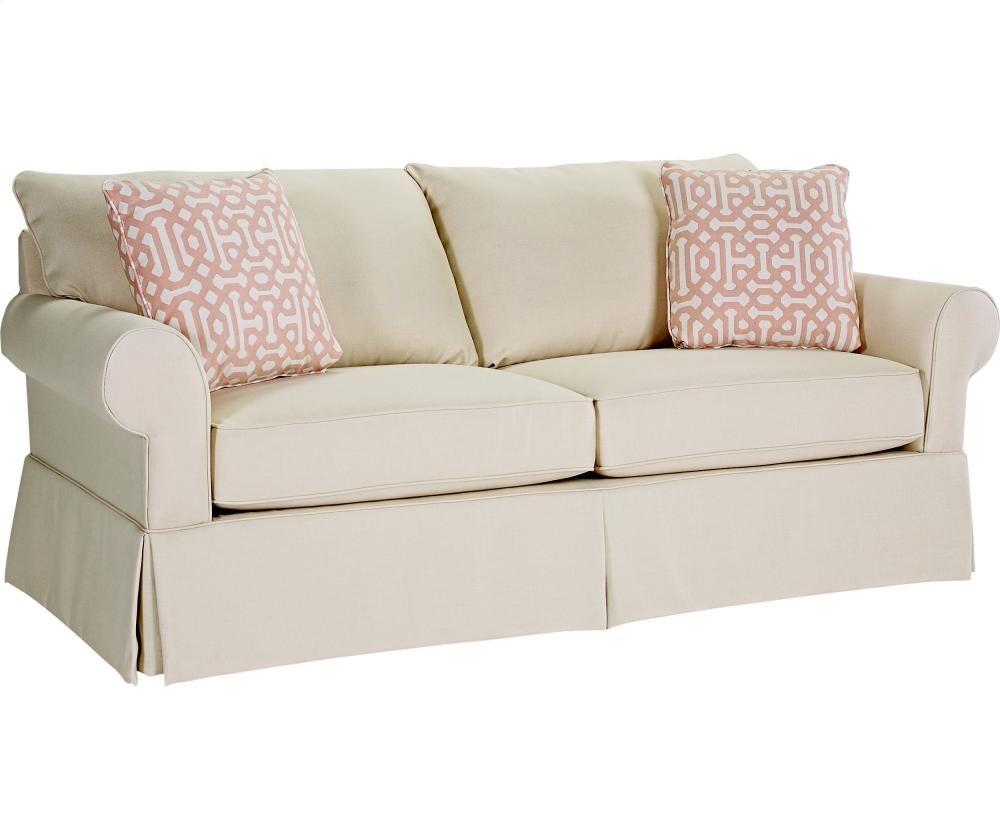 BROYHILL FURNITURE Uptown Sofa Sleeper Queen 4235SLPR Sleeper
