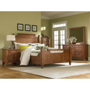 BROYHILL FURNITURE Attic Heirlooms Feather Bed