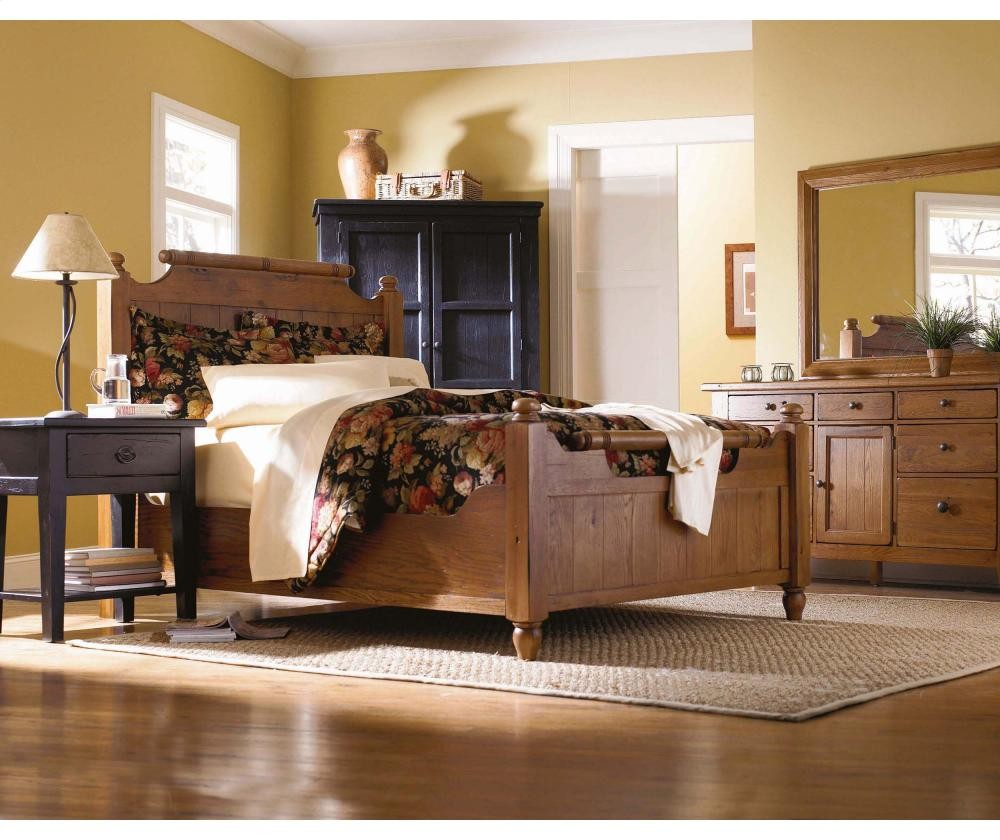 BROYHILL & BROYHILL FURNITURE Attic Heirlooms Feather Bed | 4397FEATHERBED ...