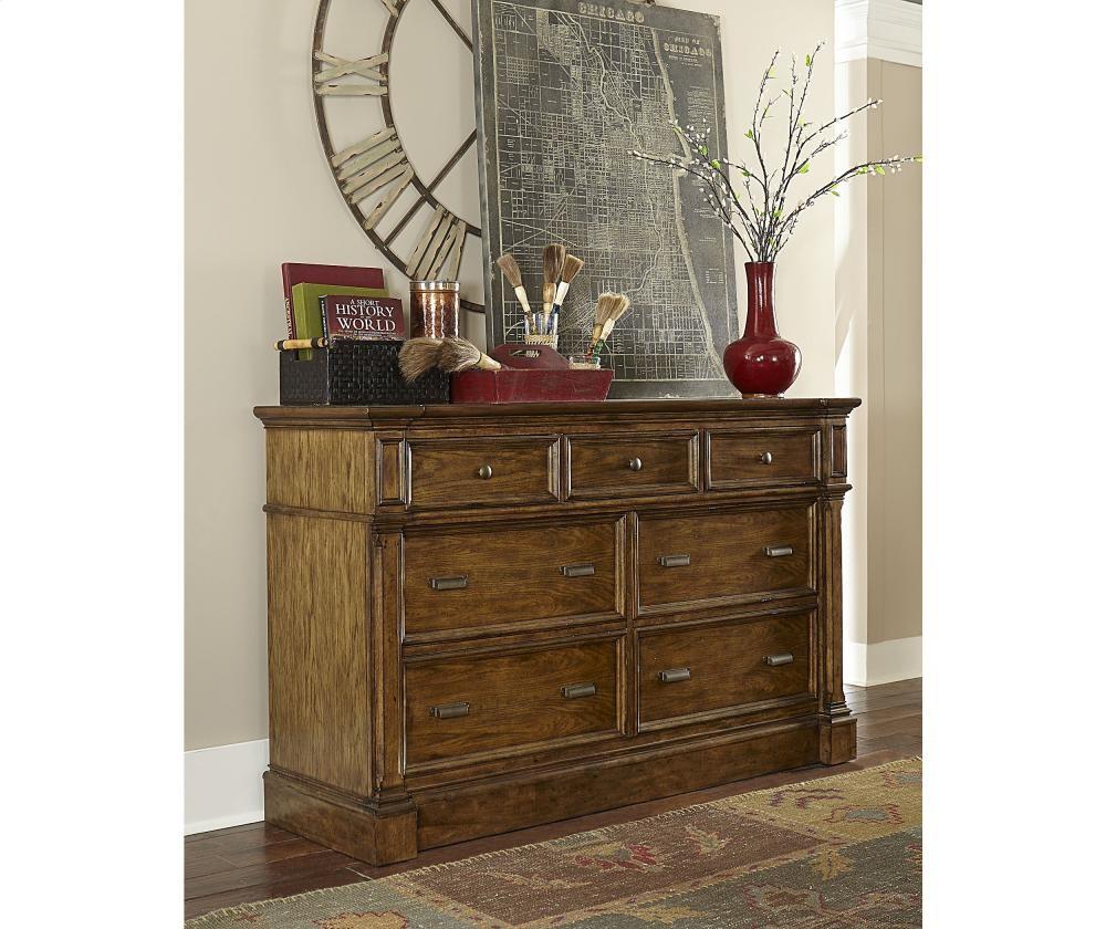 BROYHILL FURNITURE New Vintage 7-Drawer Dresser | 48077DWRDRESS ...