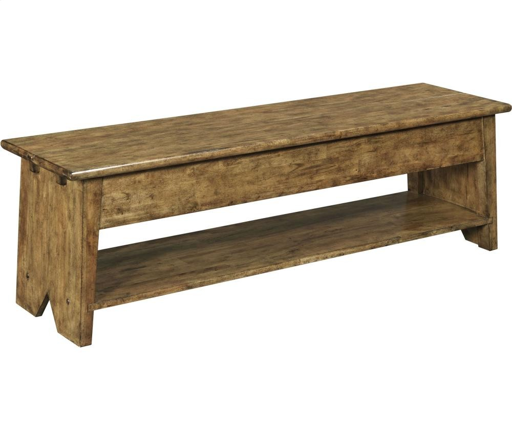 BROYHILL FURNITURE New Vintage Lift-Top Storage Bench | 4809BENCH ...