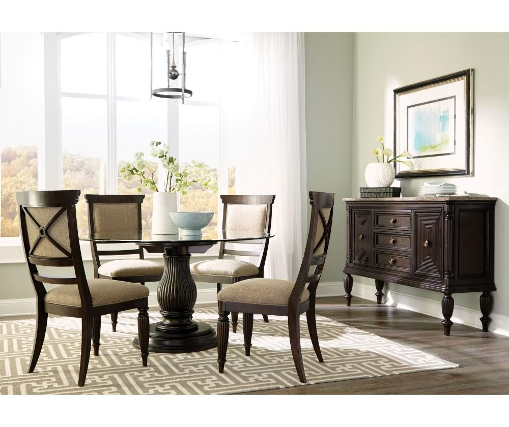 BROYHILL FURNITURE Jessa Dining Table With Adjustable Base