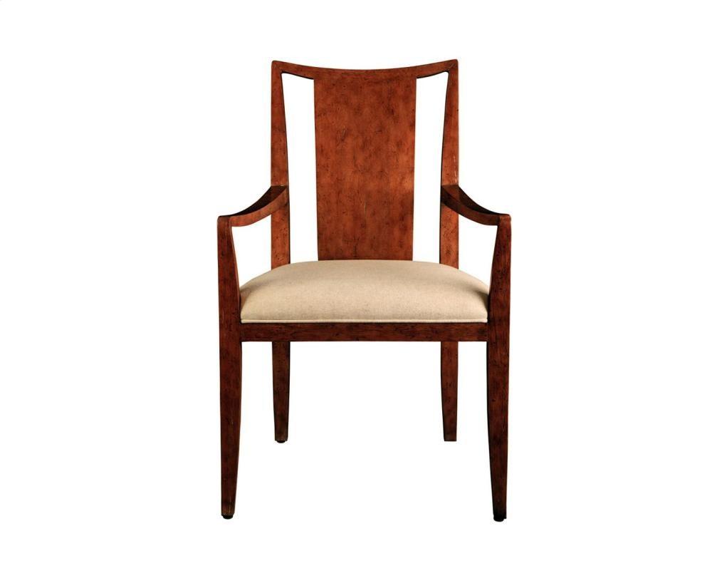 Slat Back Arm Chair