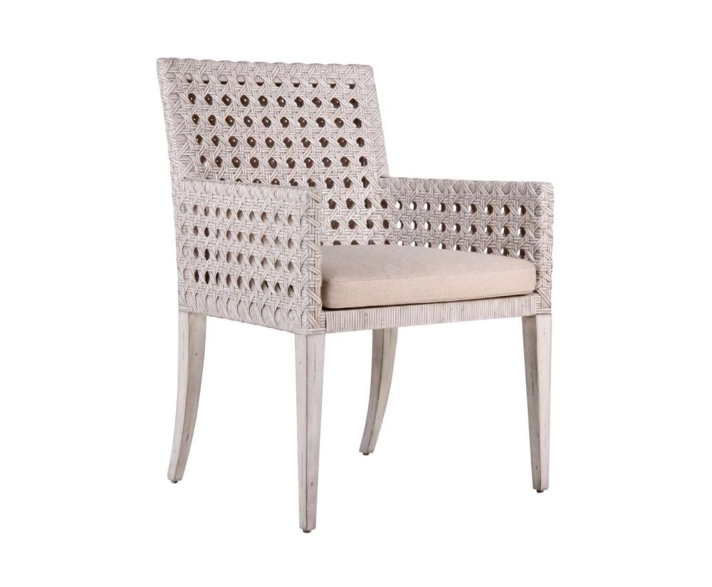 Genial Leeward Peninsula Woven Arm Chair