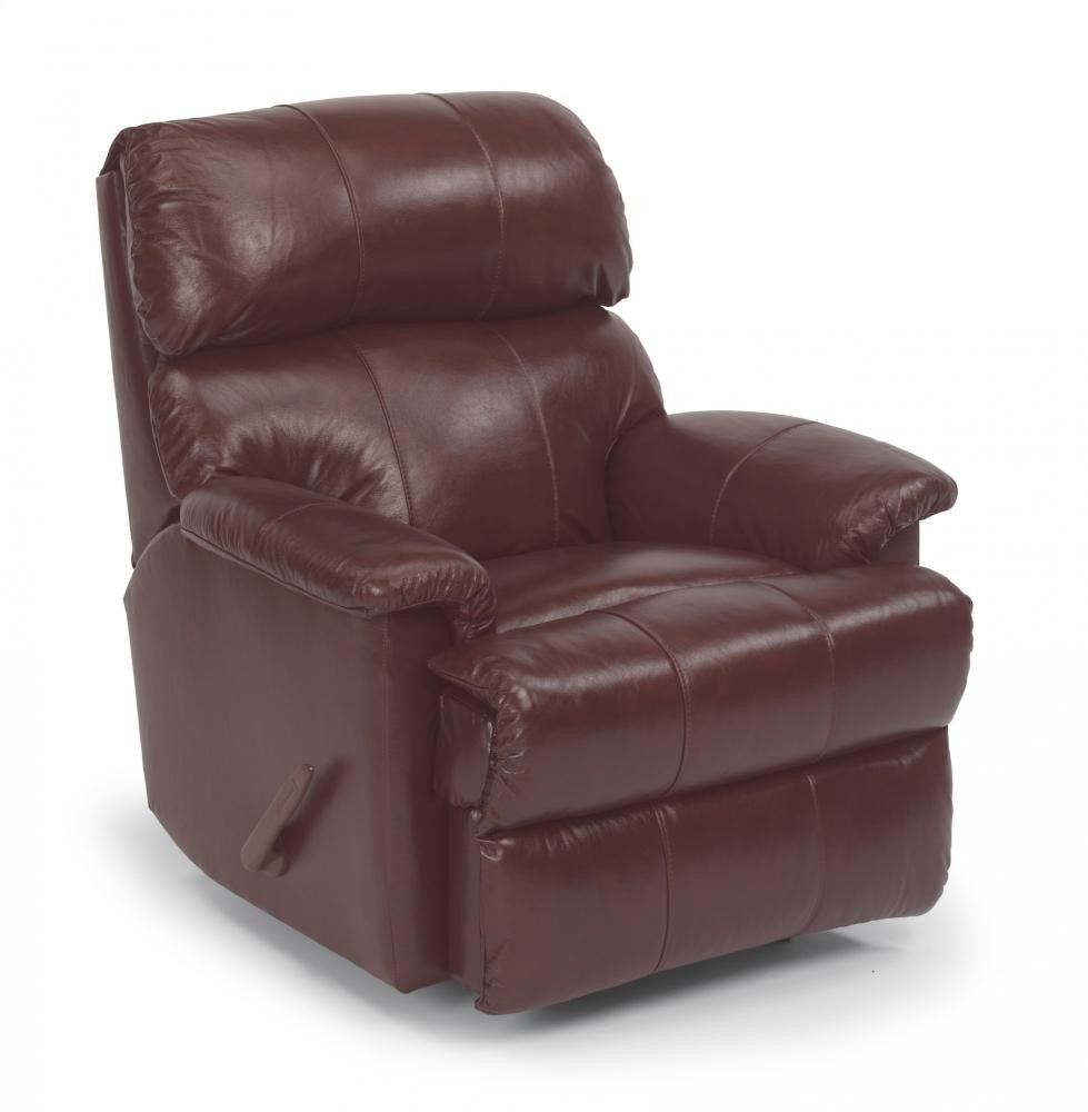 Chicago Leather Swivel Gliding Recliner 3266530