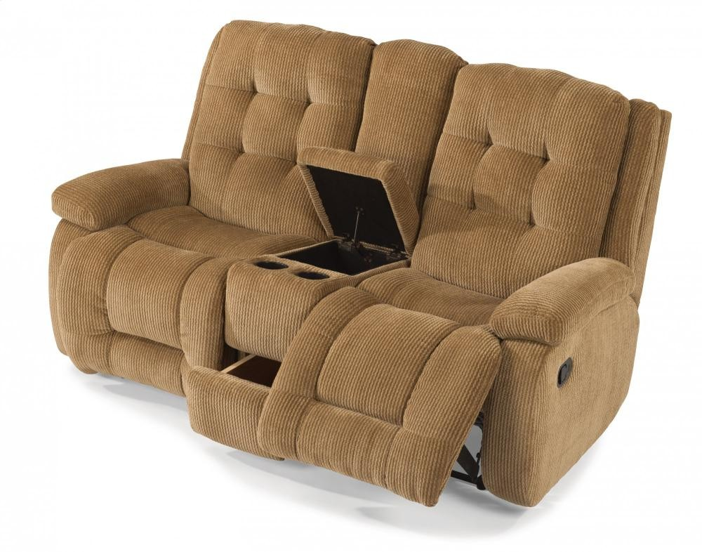 Admirable Paxton Fabric Reclining Loveseat With Console 4882601 Gmtry Best Dining Table And Chair Ideas Images Gmtryco