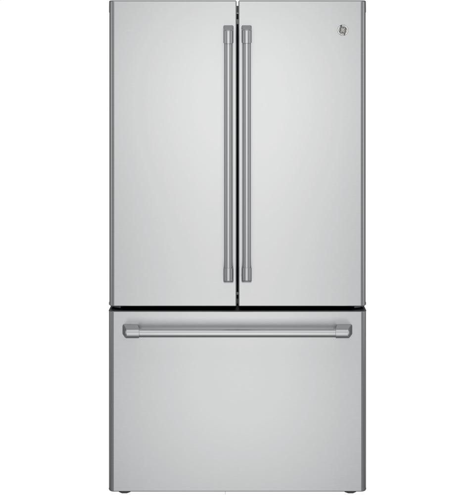 Ft. Counter Depth French Door Refrigerator. GE Cafe(TM) Series ENERGY  STAR(R) 23.1 Cu. Ft.