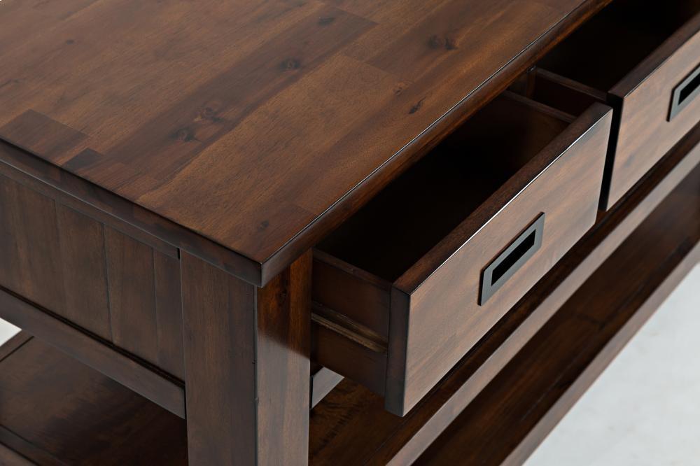 Coolidge Corner Sofa/media Table   15004   Tables   Plourde ...