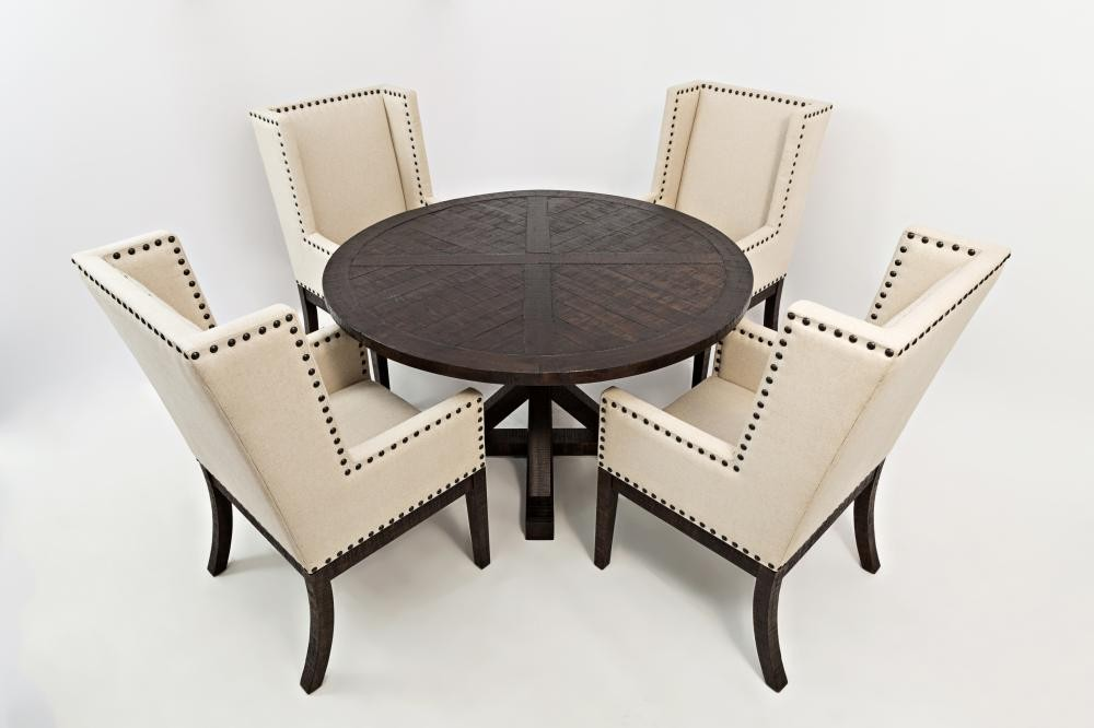 52 Round Table.Pacific Heights 52 Round Dining Table Top Chestnut