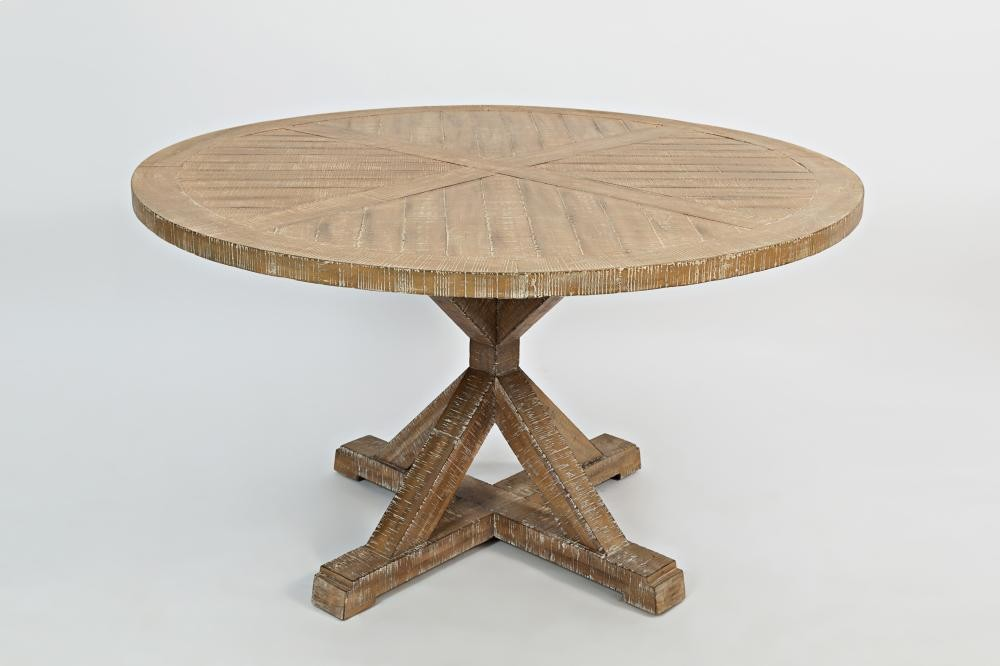 52 Round Table.Pacific Heights 52 Round Dining Table Top Bisque
