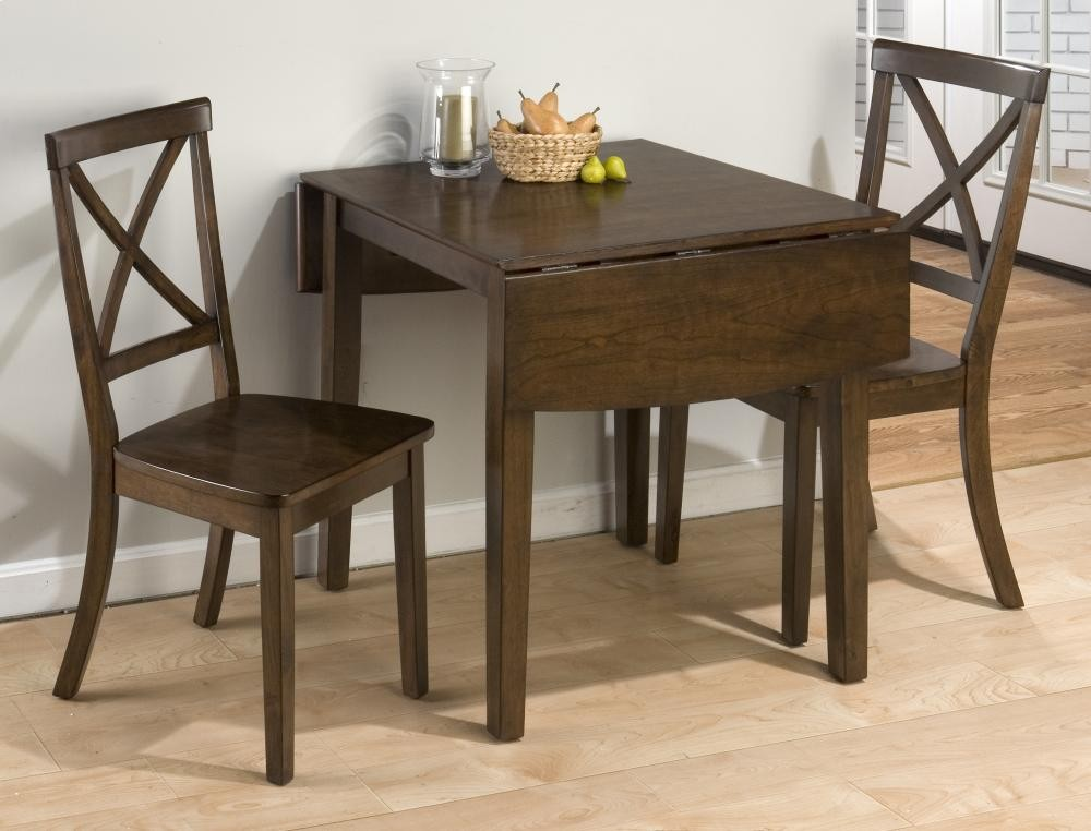 Richmond Cherry Drop Leaf Table And Two X Back Dining Chairs Click To Expand